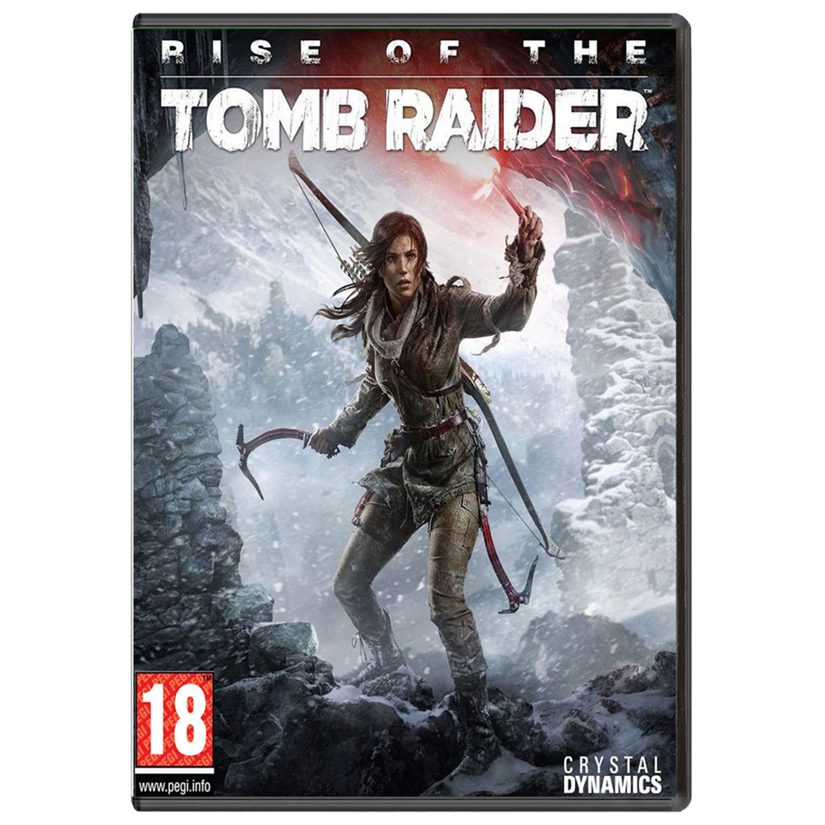 PC CD RISE OF TOMB RAIDER