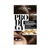 L'Oreal Prodigy Cream 4.15 + Elnett 75ML Free