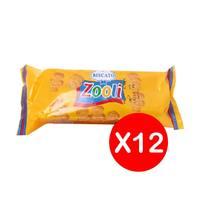 بسكويت زوولي بالعسل من بسكاتو - 33 جم عبوة من 12