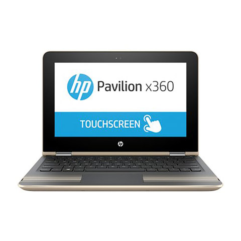 "HP-2-in1-Pavilion-11-U002NE-N3060-4GB-RAM-500GB-Hard-Disk+8GB-SSD-11.6""-Gold"