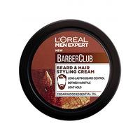 L'Oreal Men Expert Barber Club Beard & Hair Styling Cream 75ML