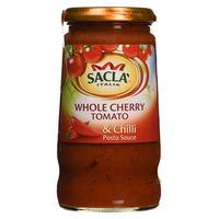 Sacla Italia Whole Tomato Cherry & Chilli Pasta Sauce 350g
