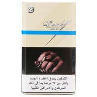 Davidoff Gold Cigarettes 20's