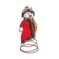 Santa Snowman Red 31CM