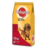PEDIGREE® Small Breed Beef Lamb & Vegetables Dry Dog Food Adult 1.5kg