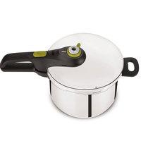 Tefal Secure Pressure Cooker 6Ltr+Intuit Fry Pan 20Cm