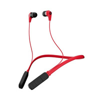 Skullcandy Bluetooth Earphone Inked Red/Black