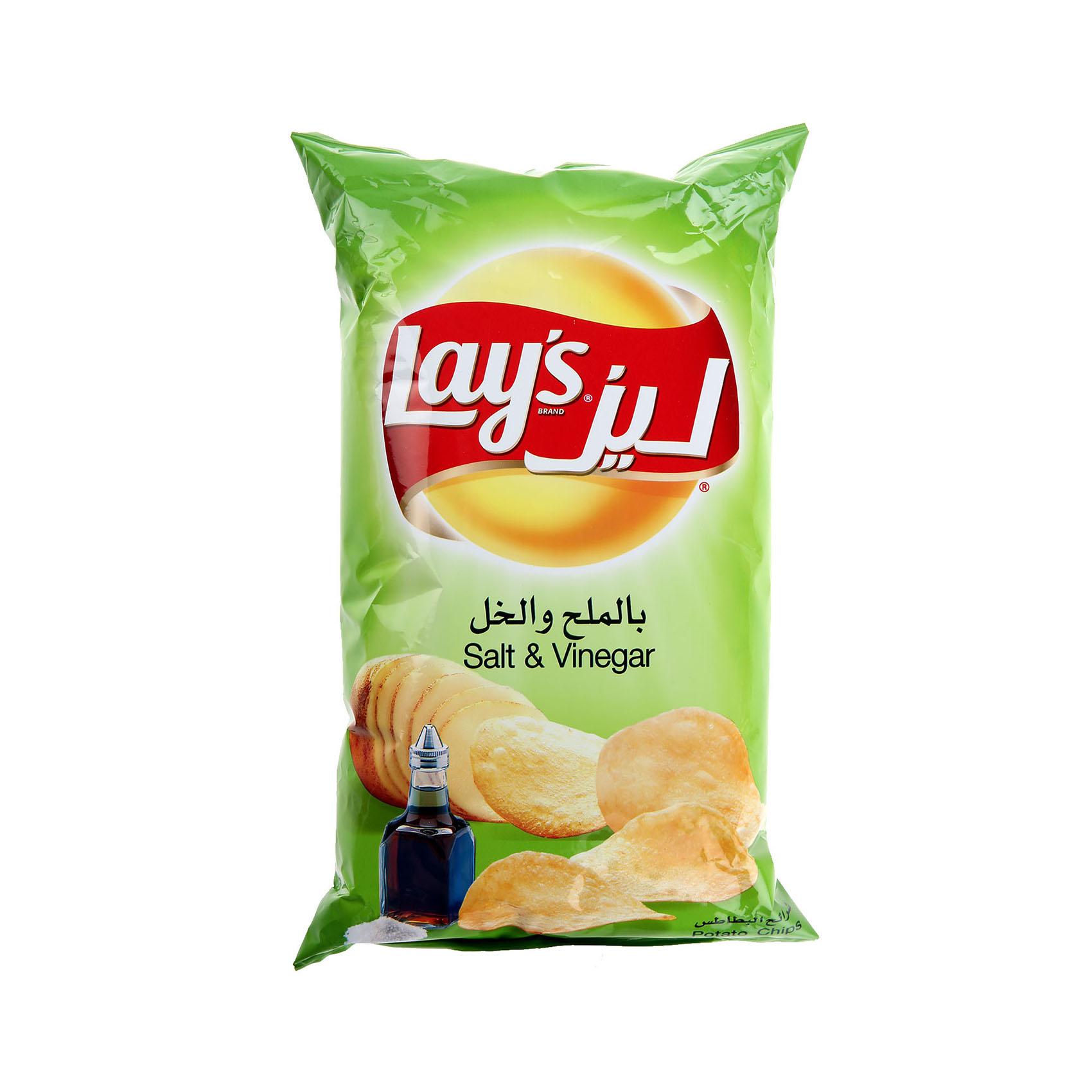 LAY'S CHIPS SALT AND VINEGAR 170G