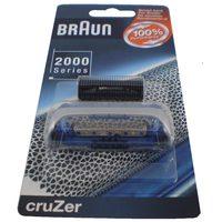 Braun Foil + Cutter 2000,Cruzer