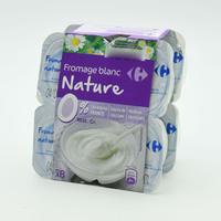 Carrefour Fresh Soft White Cheese 0% Fat 100 g x 8