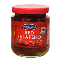 Santa Maria Red Jalapeno Hot 215g
