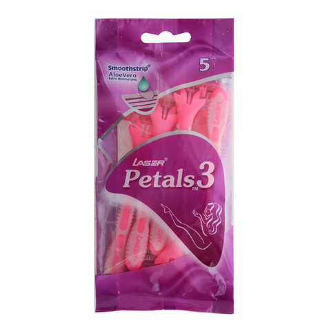 Laser-Petals-3-Engångshyvel-5-Pieces