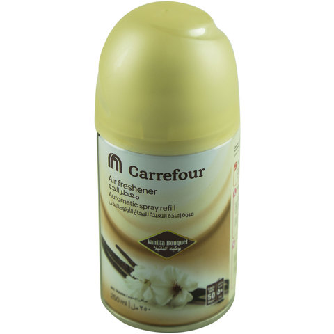 Carrefour-Air-Freshener-Automatic-Spray-Refill-Vanilla-Bouquet-250ml