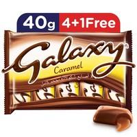 Galaxy® Caramel Chocolate Bars Multipack 40 g x 5