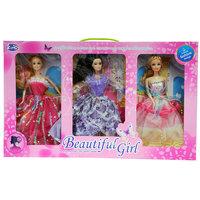 Doll Beautiful Girl 3Pcs Set