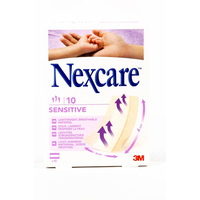 Nexcare Sensitive 10 Bandages