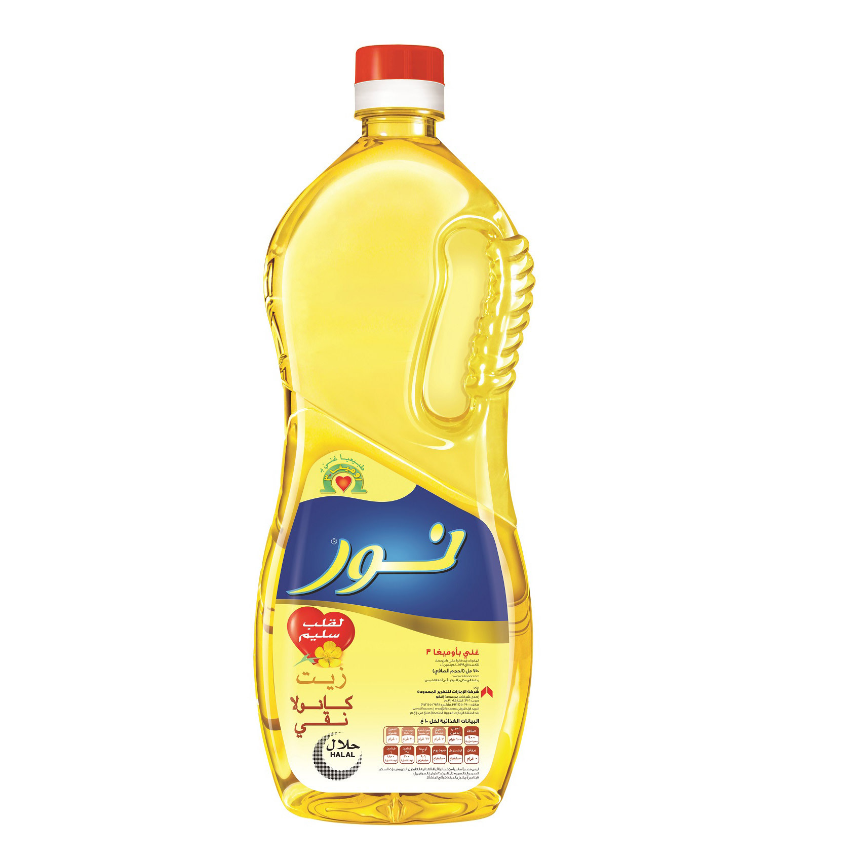 NOOR AMBER CANOLA OIL 750ML