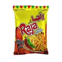Raja Potato Crunchies Hot Flavor 70g