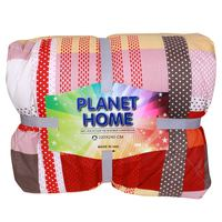 Planet Home Microfiber Comforter 220X240 Red