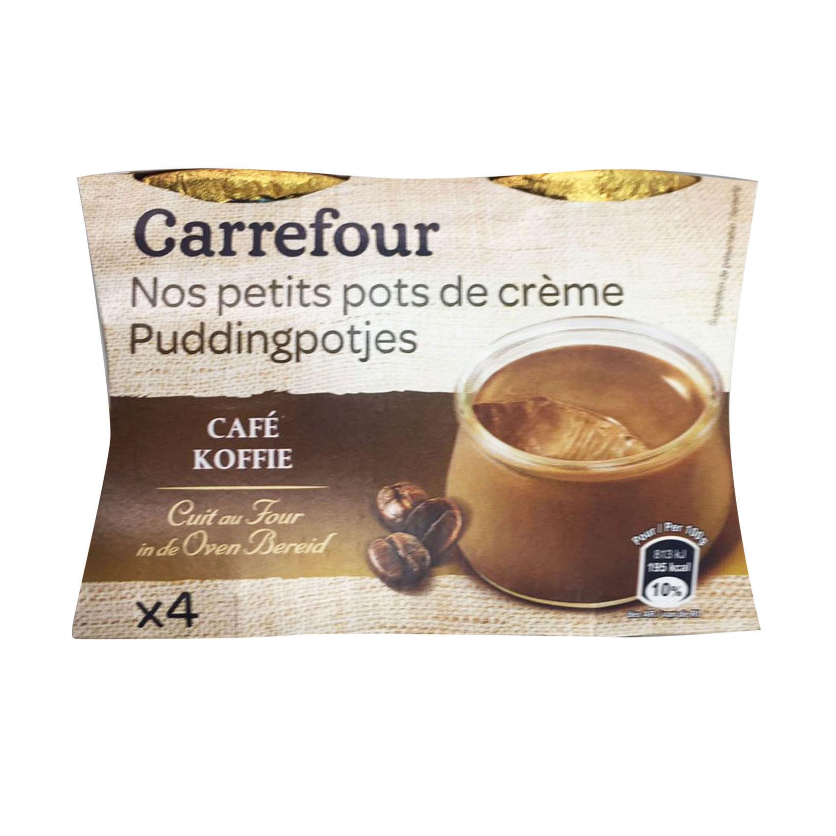 CRF CREAM COFFEE JAR 100GX4
