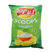 Lay's Scoops Herbs 165g