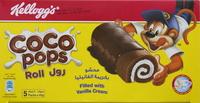 Kellogg's Coco Pops Rolls Vanilla 40gx5