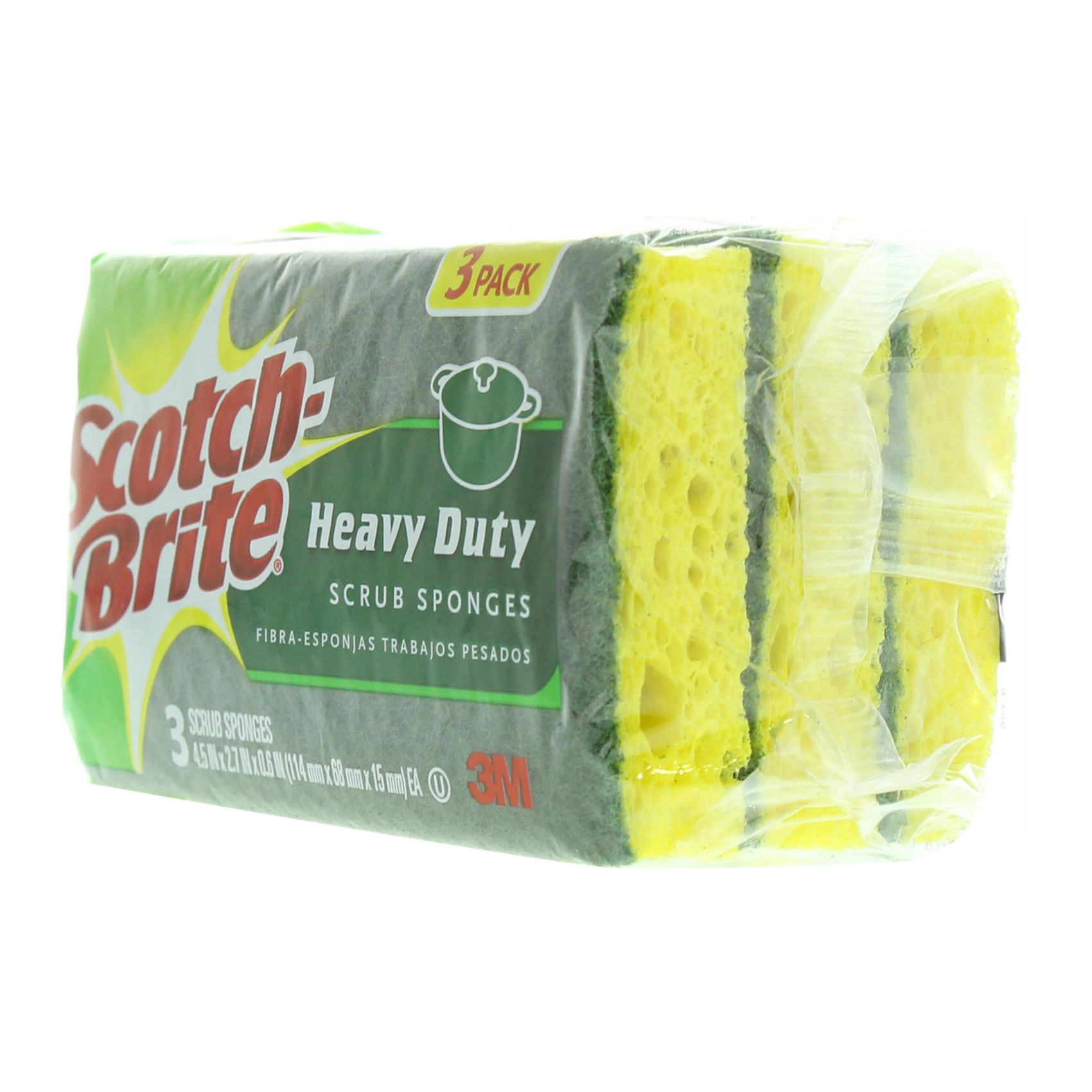 3M HEAVY DUTY SCRUB (3PACK)