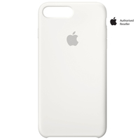 Apple Case iPhone 8Plus & 7Plus Silicon White