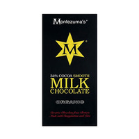 Montezuma''s Organic Milk Chocolate Bar 100GR