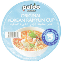 Paldo Original Korean Ramyun Cup Seafood Flavour 65g