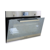 Bompani Built-In Electric Oven BO243XU/E 90 Cm Silver