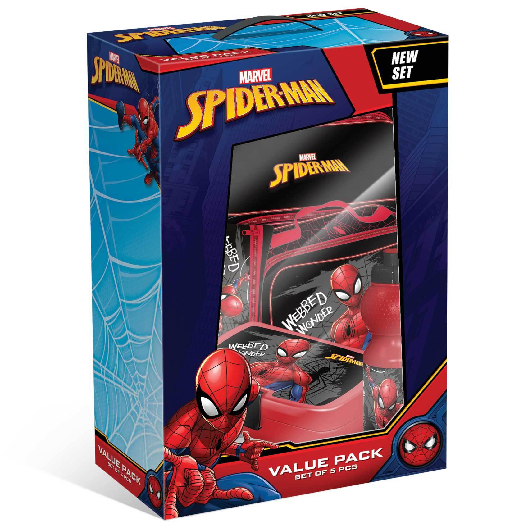 SPIDER MAN VALUE PACK SET 1