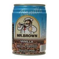 Mr. Brown Vanilla Iced Coffee 240ml