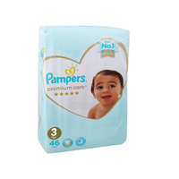 Pampers Premium Care Baby Diaper Medium Size 3X62