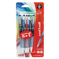 Uniball Signo Gel Pen 5+1Free