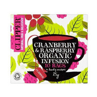 Clipper Cranberry Raspberry Infusion Organic 25GR