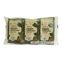 Bibigo Crispy Seaweed Snacks Sesame 15g x3