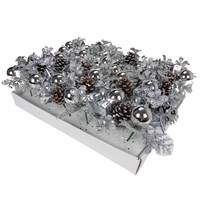 Christmas PDQ Of Flower Picone-Silver