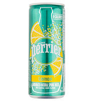 Perrier Carbonated Natural Spring Water Lemon 250ml