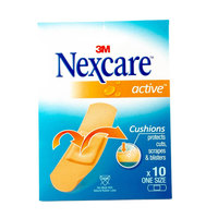 Nexcare Active One Size 10 Bandages