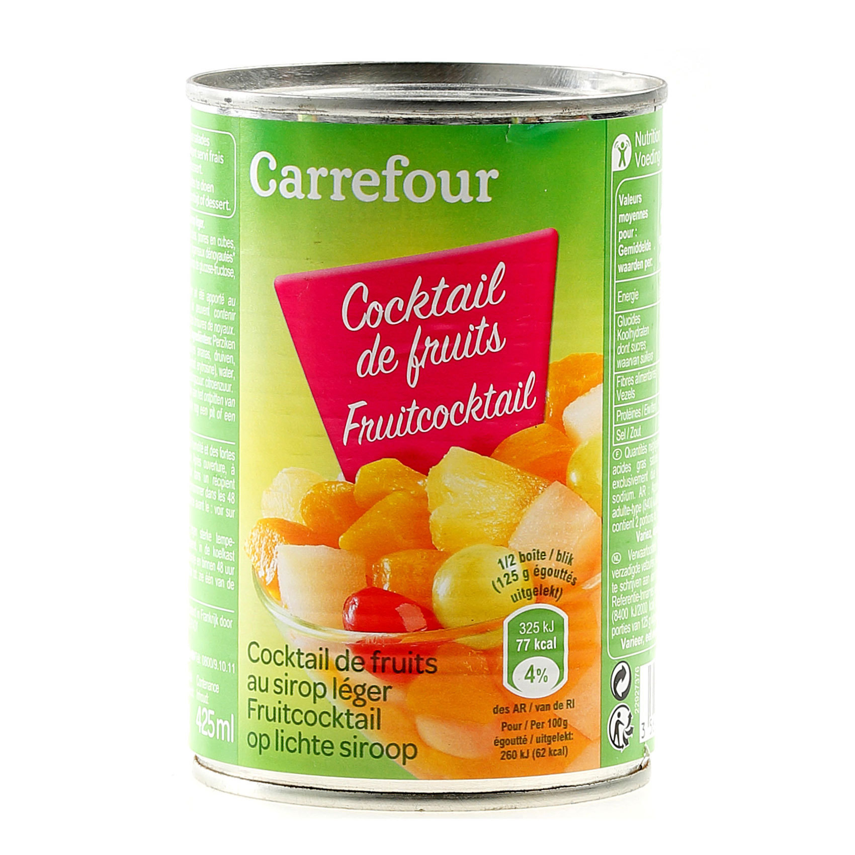 CRF SYRUP FRUIT COCKTAIL 400G
