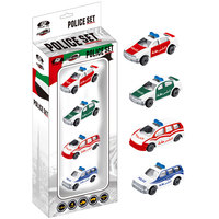 Power Joy Vroom Vroom Diecast Police Uae 4Pcs