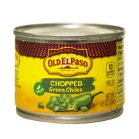 Old El Paso Chopped Green Chiles Mild 127g