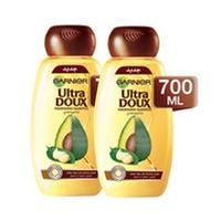 Garnier Ultra Doux Shampooing Avocado & Shea Butter 700ML X2 -25% Off