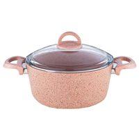 Casserole Pink Granite 28Cm