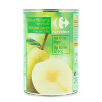 Carrefour Pears Fruit Halves in Light Syrup 425ml
