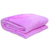 3D Super Soft Flannel Blanket King Purple
