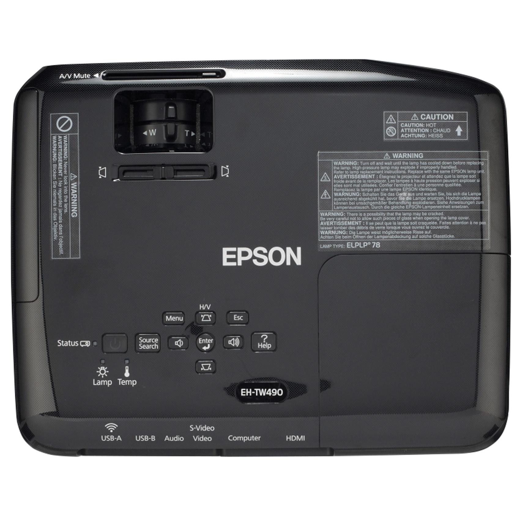 PROJ EH-TW490 EPSON