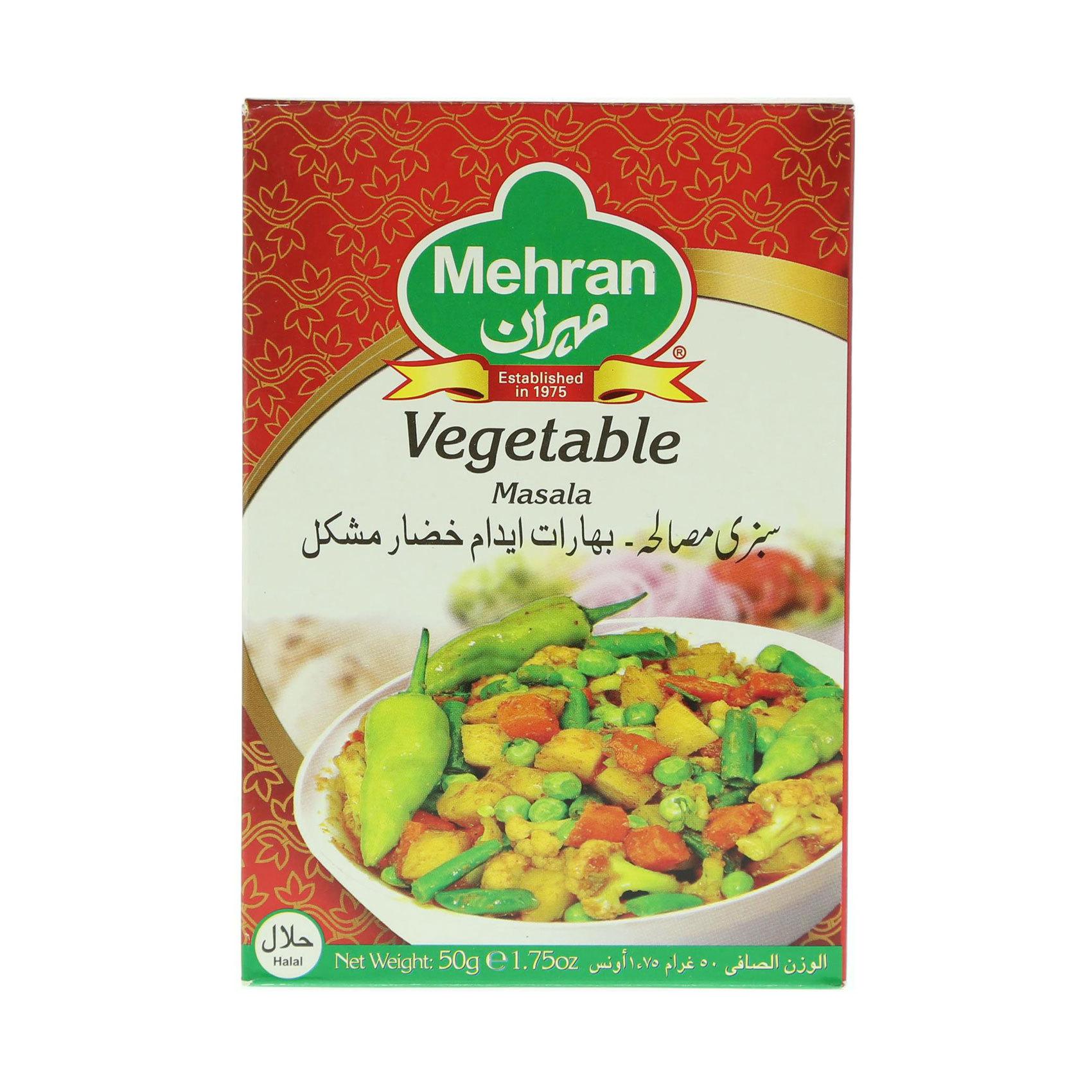MEHRAN VEGETABLE MASALA POWDER 50GR