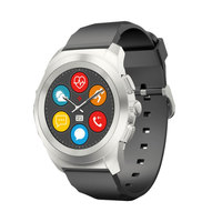 Mykronoz Smart Watch Zetime Hybrid Silver Black